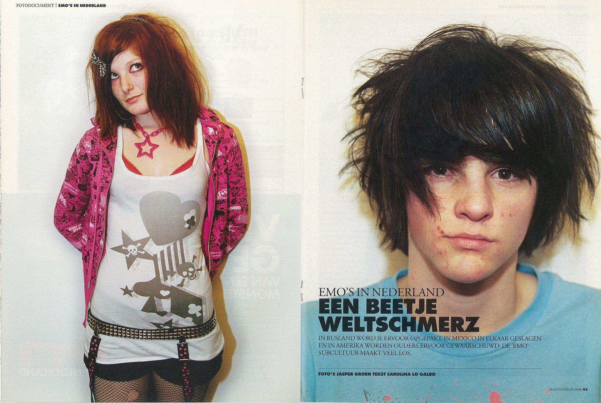 August 2008: publication in Vrij Nederland, 8 pages.