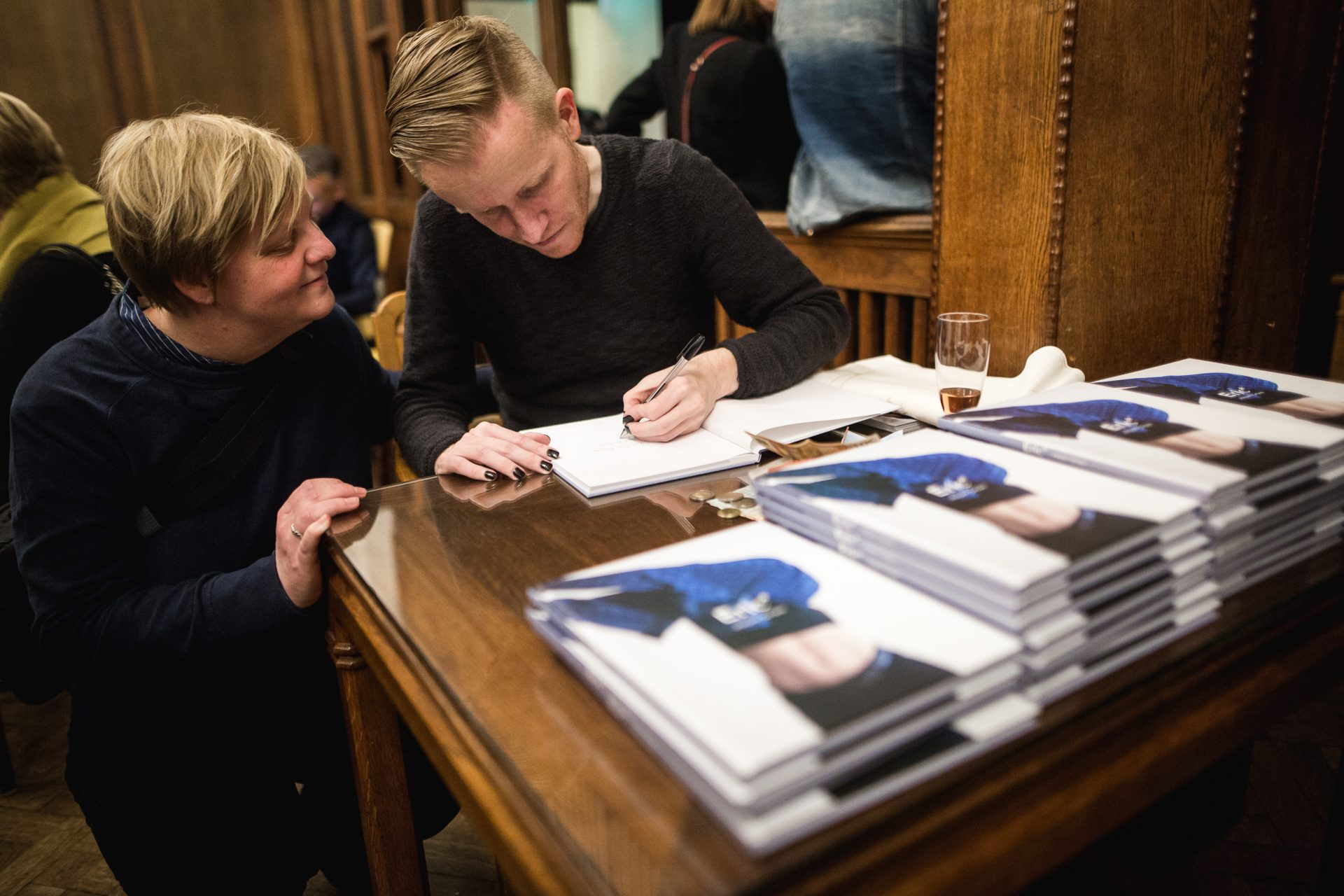 November 2017: book presentation 'Eric*' in Lloyd Hotel, Amsterdam.